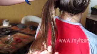 Маска с эфирным маслом против сухости волос(Видеоурок: как делать маску для волос с эфирными маслами против сухости., 2011-09-07T08:18:57.000Z)