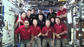 President Obama Calls On-Orbit Crews