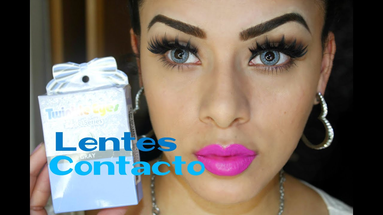 Mis Lentes de Contacto, (Circle Lens) - YouTube