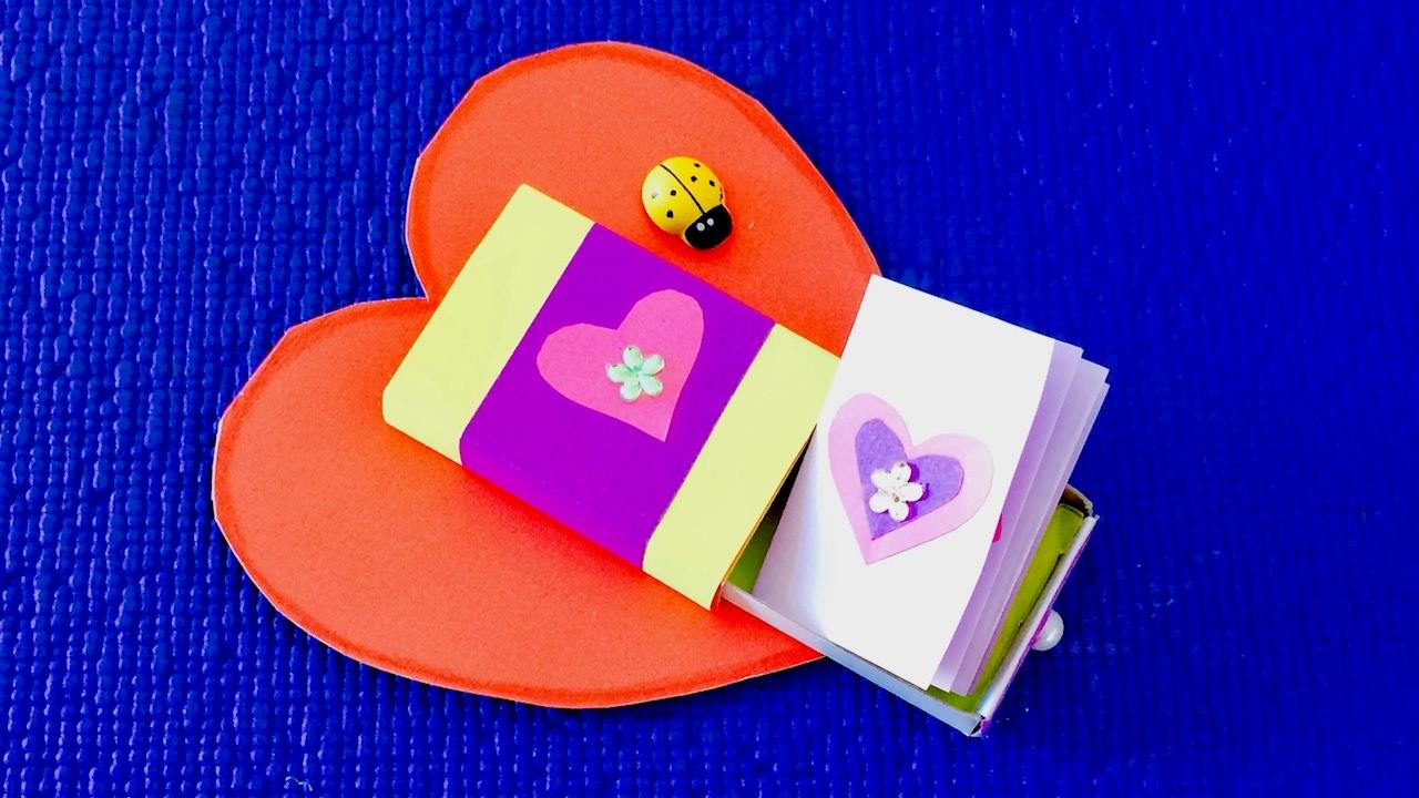 Открытки с секретом своими руками, открытки день