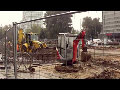 The largest construction site in Poland - Lodz changes the image.