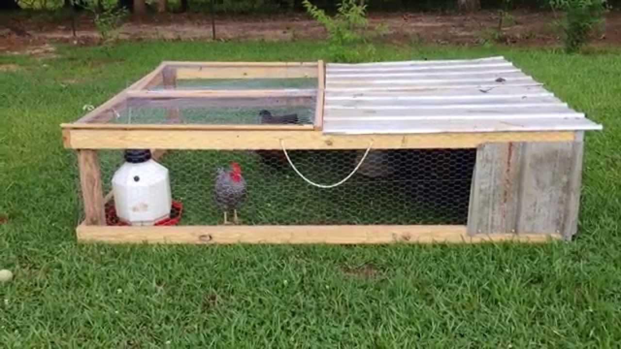 100 backyard chicken tractor chicken coop backyard designs