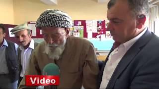 Türkiye'nin en yaşlı seçmeni Mehmet Esen!