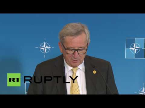Poland: NATO and EU reach 'historic' cooperation agreement at Warsaw summit