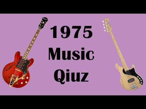 1975 Music Quiz