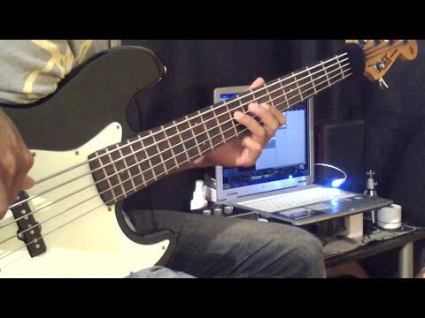 TOMPI-MENGHUJAM JANTUNGKU - BASS COVER By Lados (headphone User)