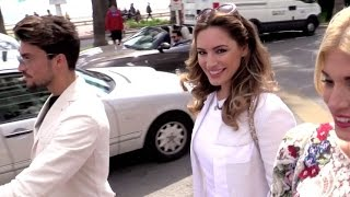 EXCLUSIVE: Kelly Brook and Hofit Golan on the croisette in Cannes
