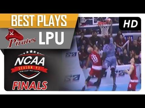 Mike Harry Nzeusseu posterizes Davon Potts! | LPU  | Best Plays | NCAA 93