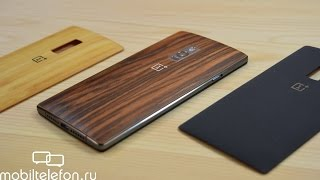 OnePlus 2: распаковка и быстрый обзор с крышками StyleSwap (unboxing)