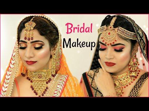 Indian Bridal Makeup Challenge .. | #Beauty #Wedding #Tutorial #Hacks #Anaysa thumbnail