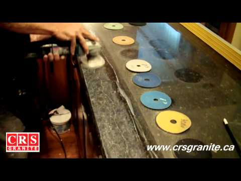 CRS Granite - How To Repair a Crack on a Granite Countertop