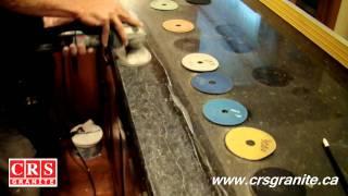 CRS Granite - How To Repair a Crack on a Granite Countertop