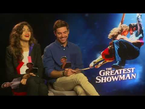 Zendaya & Zac Efron Do The Robot