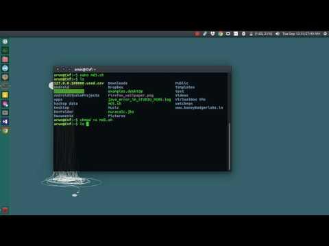 Execute Shell Script In Ubuntu From Anywhere - Ex: Md5 Hash
