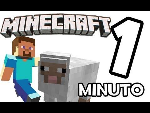 Minecraft en 1 minuto