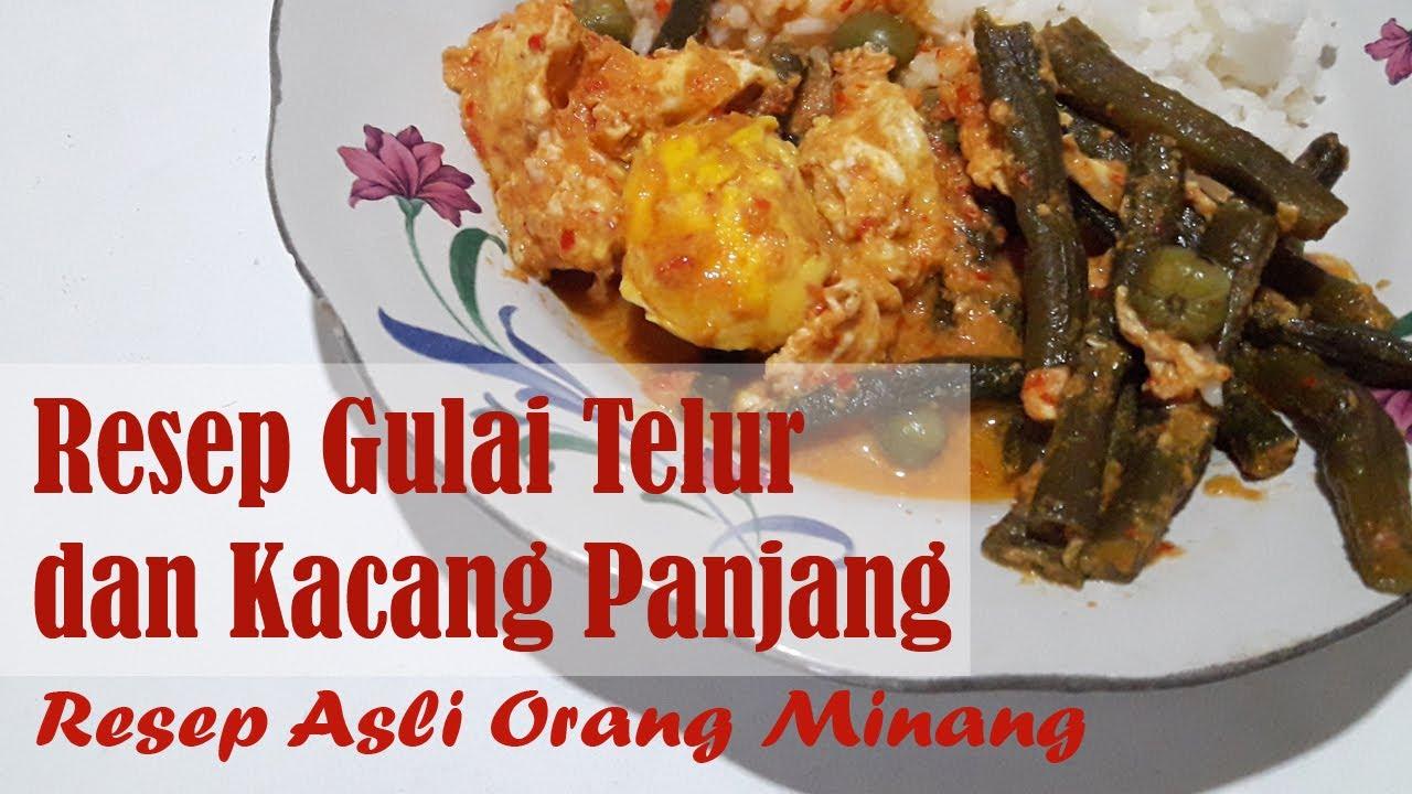 resep gulai telur campur kacang panjang gulai lemak telur masin azie kitchen penjelasan Resepi Gulai Sotong Azie Kitchen Enak dan Mudah