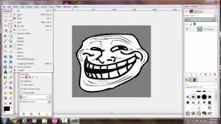 How to Make a Transparent Background With Gimp 2.8.14
