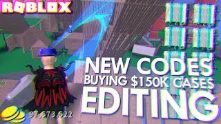 BUYING $150,000 LEGENDARY ONLY CASES in ROBLOX STRUCID (NEW EXCLUSIVE CODE)