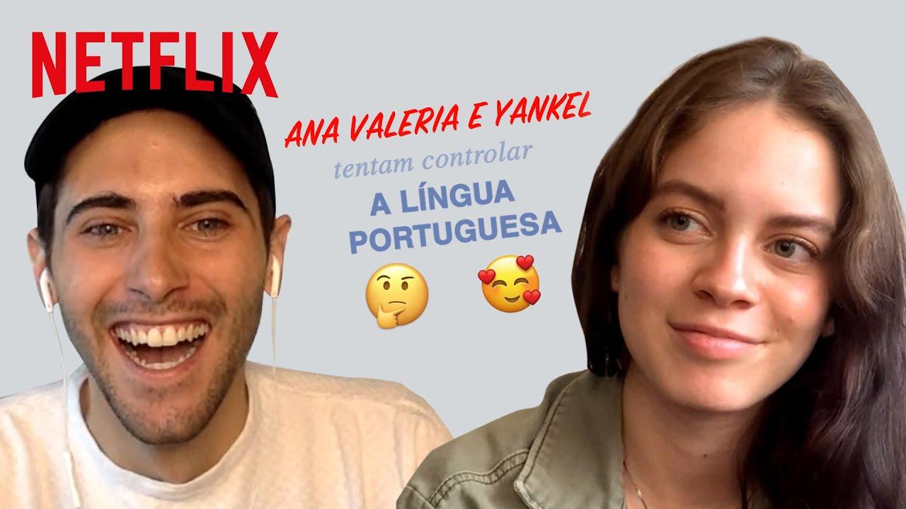 Ana Valeria e Yankel tentam controlar a língua portuguesa | Control Z | Netflix Brasil