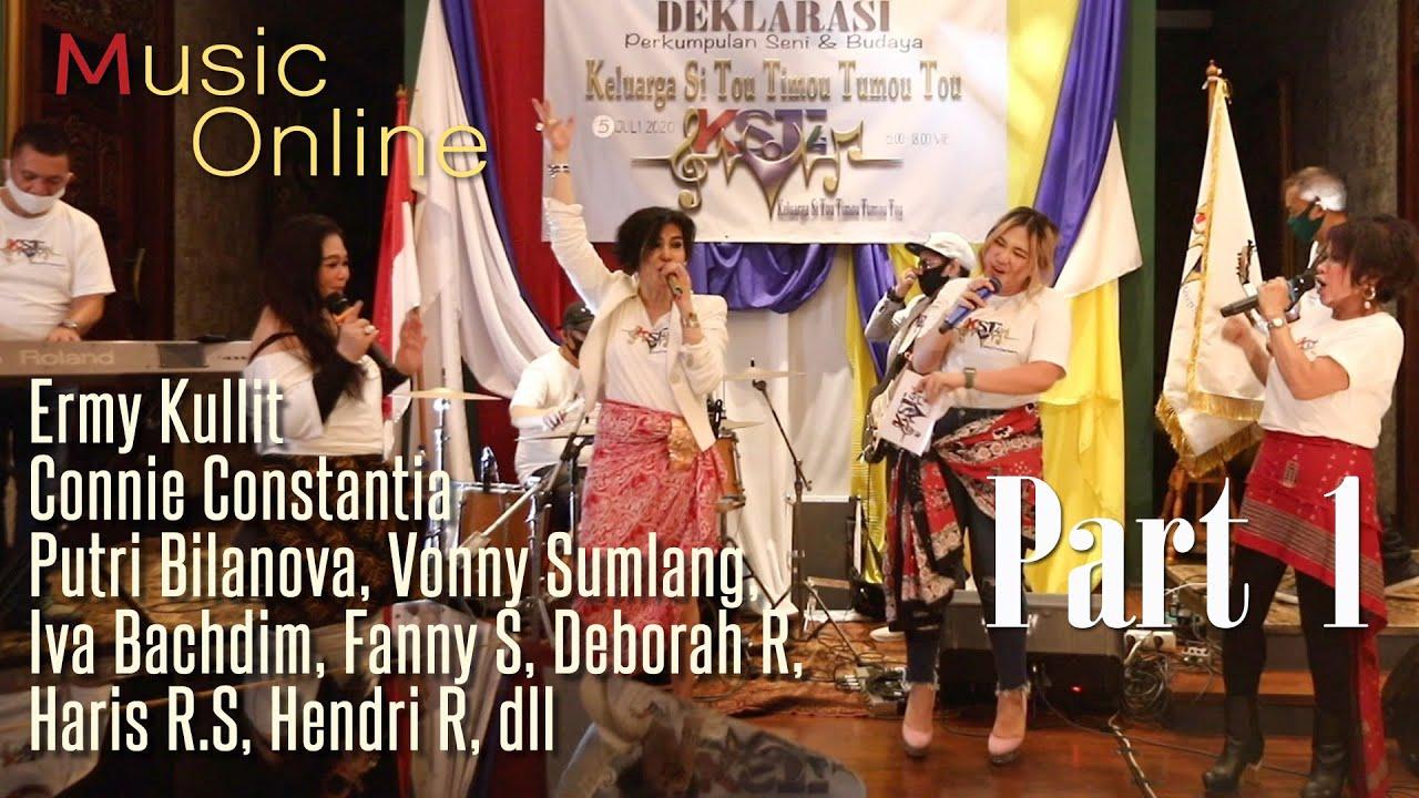 Download Deklarasi, talk show, & hiburan KELUARGA SI TOU TIMOU TUMOU TOU (KST4), para artis Sulut Go (Part I)