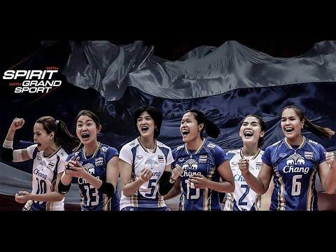 เธอจะต้องชนะ : วอลเลย์บอลหญิงทีมชาติไทย