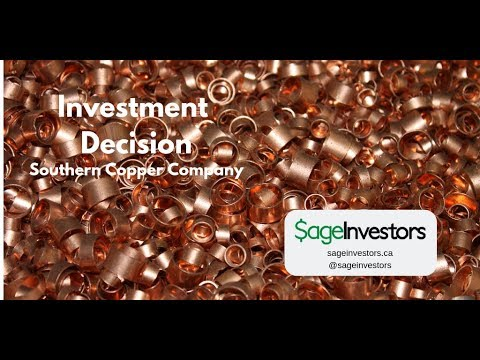 Investment Decision: Southern Copper Company