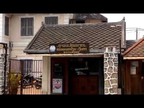 LDB Lao Development Bank Exchange Luang Prabang, Laos