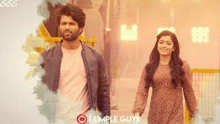 Tamil love song whatsApp status 💕 Innum enna onnum vendame  song whatsap status 💕  simple guys💔....