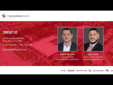 Boca Commerce Park - Drone Video - Short Version