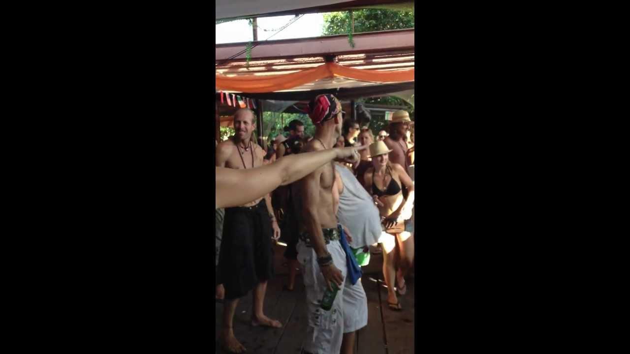 Tribal Sky Backyard Fullmoon Afterpaty 08022012 Koh Phangan Thailand