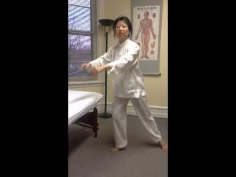 Liver Qi stagnation:  5-element exercise  五行操