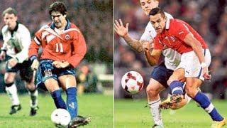 Chile 2-0 Inglaterra |1998 y 2013|
