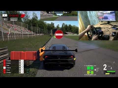 Assetto Corsa Competizione/ Lamborghini/logitech 29g/gaming |