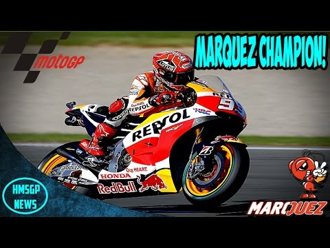 MotoGP: Marquez 2016 MotoGP World Champion! (Motegi News!)