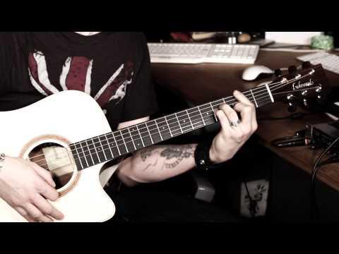 Gitarre lernen: Last Christmas - Wham Akustik (HD XMAS)