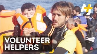 Spanish lifeguards Working For Free To Save Refugee Lives
