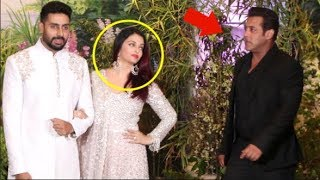 Salman Khan & Aishwarya Rai Come FACE TO FACE At Sonam Kapoor's Wedding- Video