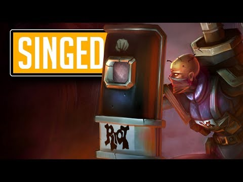 League of Legends #565: Singed Top (CZ/Full HD/60FPS) thumbnail