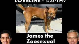 Loveline - James the Zoosexual Calls In (Part 6 of 6)
