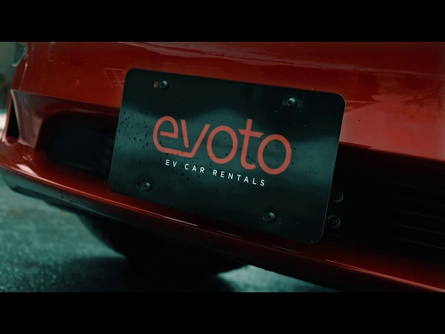 EVOTO Rentals' New Tesla Model 3
