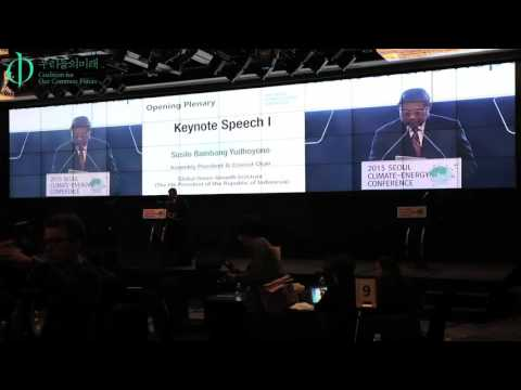 Seoul Climate-Energy Conference 2015 - Opening Plenary