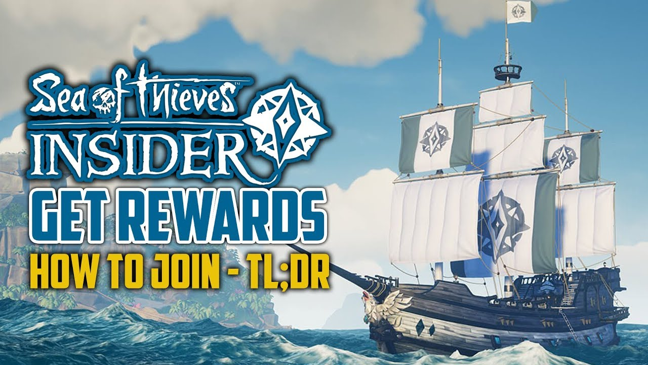 Sea Of Thieves Insider Rewards