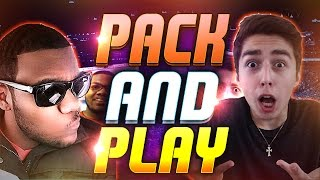 ONYX PACK AND PLAY VS GENTO | NBA 2K15 MY TEAM WAGER