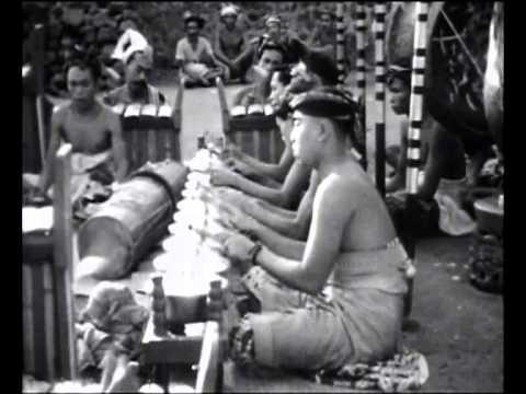 Bali 1928: Gangsa Pacek and Réyong Gong Kebyar