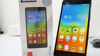 Lenovo K3 Note Unboxing & Hands On Overview / Impressions