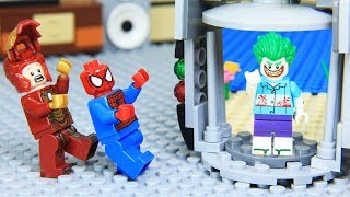 Lego Superhero Joker Steal Magic Door