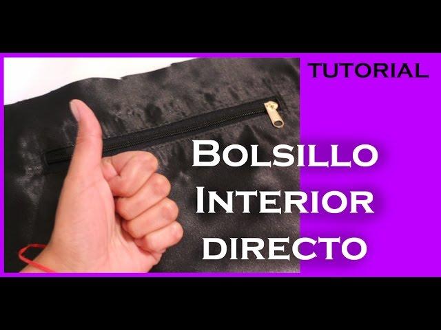bede2185955 Cómo hacer un Bolsillo interior