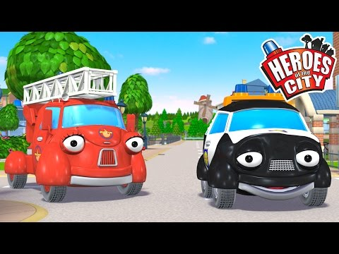 Trading Places - Heroes of the City - Season 2 - EP#05 | Car Cartoons | Car CartoonsKaynak: YouTube · Süre: 11 dakika1 saniye