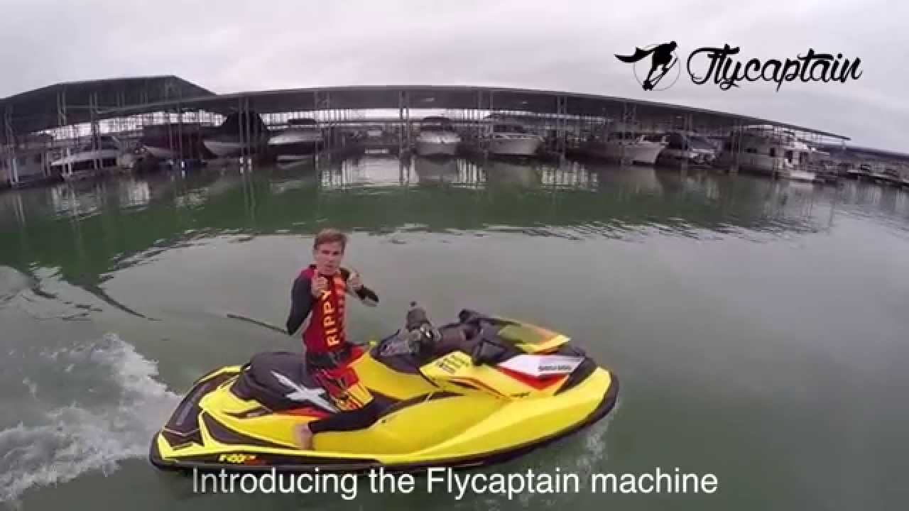 Sea Doo Rxp X 260 >> Introducing the Flycaptain Machine | The Sea-Doo RXP-X 260 model 2015 - YouTube