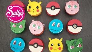 Pokemon Go Cupcakes / Muffins / Cupcake Topper